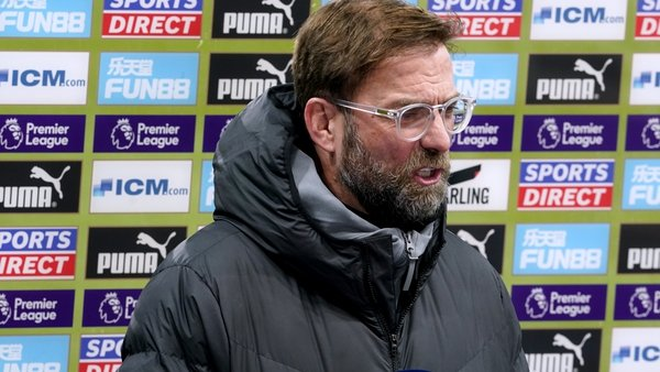 Klopp's Liverpool are looking for a first league win since 19 December