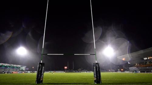 The Sportsground will hosnts Conacht v Ospreys on Sunday 24 January