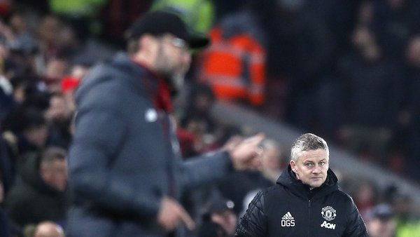 United haven't beaten Liverpool since March 2018
