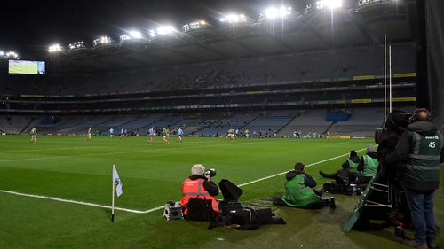 Dublin and Mayo battled it out in an almost-empty Croke Park