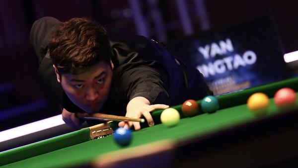 Yan Bingtao is now only two wins away from a first major title.