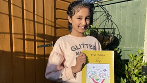 Tia Ann Jain was 11 years old when she wrote and illustrated 'Tales of Joy'
