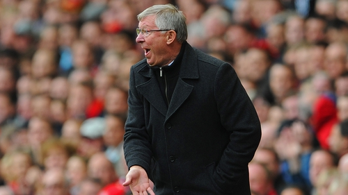 Alex Ferguson pictured at Anfield back in 2012
