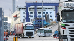 Volumes have been steadily increasing at Dublin Port, but are still around half of what they were this time last year (Pic: RollingNews.ie)