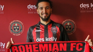 Bastien Héry has joined from Linfield. Credit: Bohemian FC