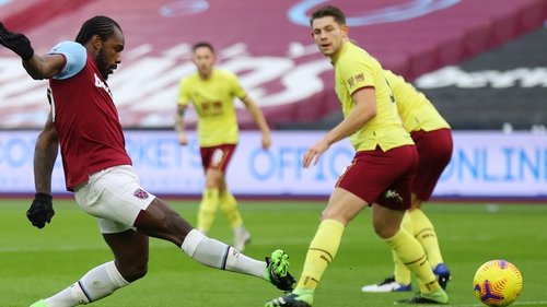 Michail Antonio scored his first goal since October