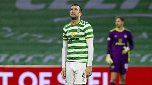 Ireland's Shane Duffy during the draw with Livingston