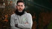 Stephen Bradley has led Shamrock Rovers to a league title and a first cup win in 32 years since taking over as manager in 2016