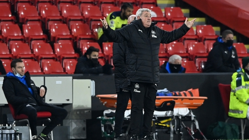Steve Bruce currently finds himself in the eye of a storm with the Magpies' season threatening to unravel after a run of eight games in all competitions without a victory