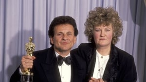 Joe Pesci and Brenda Fricker at  the 63rd Annual Academy Awards on March 25, 1991 at Shrine Auditorium in Los Angeles, California. (Photo by Ron Galella