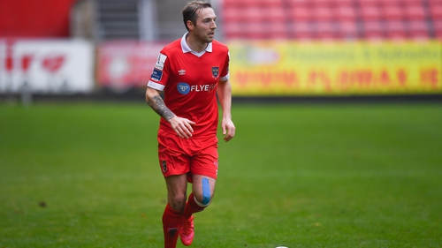 Karl Sheppard's playing career finished at Shelbourne