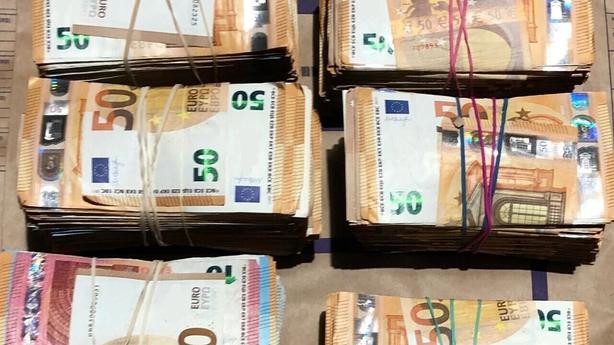Cash seizure Dublin