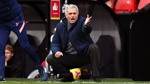 Sunday's defeat meant Jose Mourinho lost his 10th league game in a single season for the first time in his career