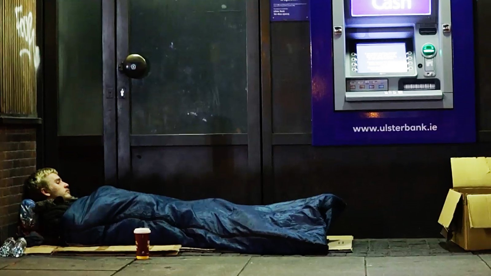 Image - Dan Orlovs left Kildare to live on the streets of Dublin in July 2020