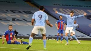 John Stones scored a brace in the 4-0 victory