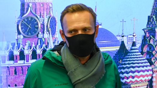 Alexei Navalny was arrested at Moscow's Sheremetyevo airport