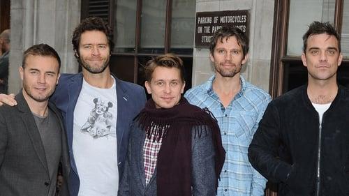 Gary Barlow, Howard Donal, Mark Owen, Jason Orange and Robbie Williams of Take That