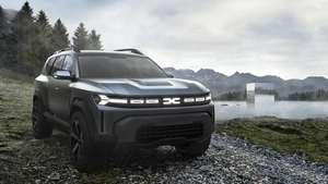 """Dacia's """"Bigster"""" concept car is expected to go on sale within the next four years."""