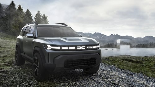 "Dacia's ""Bigster"" concept car is expected to go on sale within the next four years."