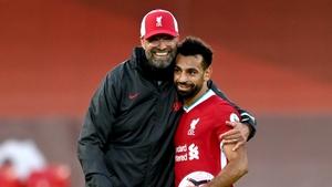 Jurgen Klopp is happy with how Mo Salah's contract talks are proceeding