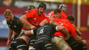 Munster's maul, seen here against Ospreys earlier this season, has been identified as an attacking weapon by Leinster