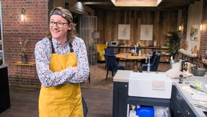"""Ed Byrne - """"My plan is to try and put as much of my personality into each dish as I can and as little of my hair as possible"""""""