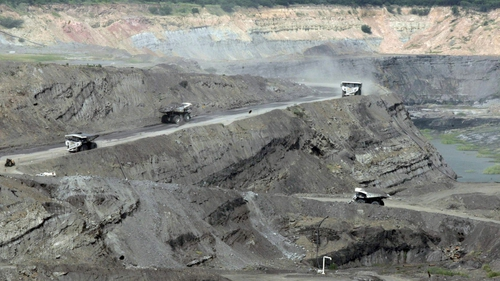 Coal mine at Cerrejón in northern Colombia (file image)
