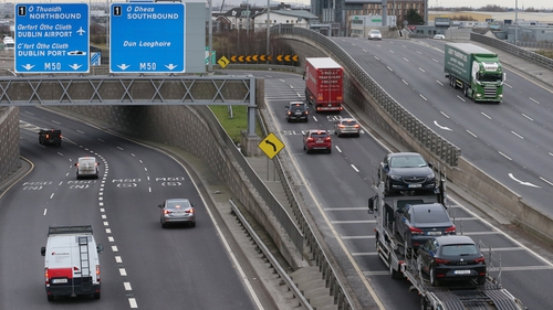 Car traffic volumes are 48.7% lower in regional locations and 46.1% lower in Dublin when compared with the same time last year(Pic: RollingNews.ie)