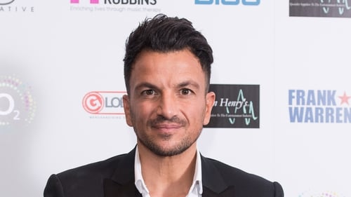 Peter Andre tested positive for Covid-19 on January 8