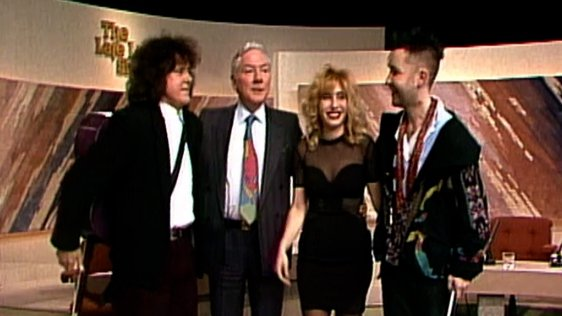 Donovan, Gay Byrne, Brix Smith, Nigel Kennedy on The Late Late Show (1991)