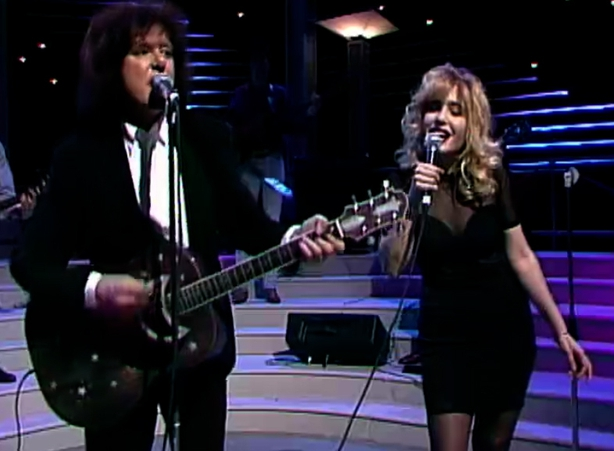 Donovan and Brix Smith on The Late Late Show (1991)