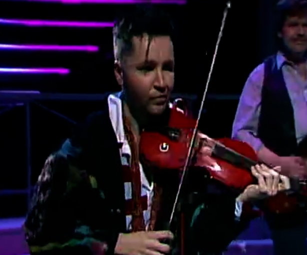 Nigel Kennedy on The Late Late Show (1991)