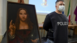 Police are now investigating how the painting was stolen from the Doma Museum collection in Naples
