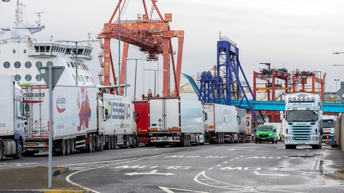 Dublin Port reported a 7.8% in the number of vessels arriving in the third quarter of 2020