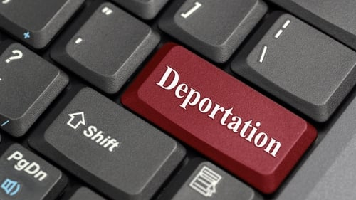 The fact the healthcare workers faced deportation was raised in the Dáil on several occasions