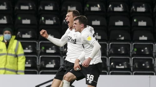 Jason Knight captained Derby again as they secured a 1-0 win