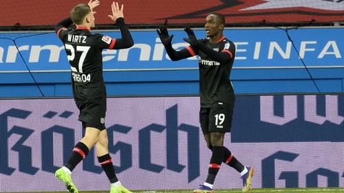 Florian Wirtz and Moussa Diaby starred in Bayer Leverkusen's Bundesliga victory