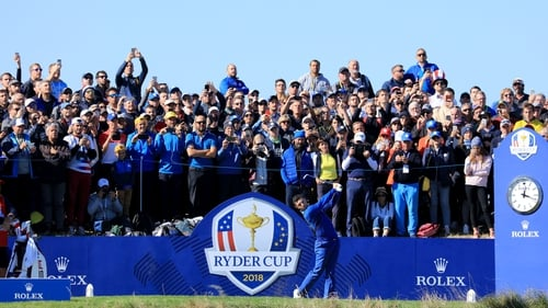 Rory McIlroy McIlroy saidthe Ryder Cup organisershad made the right call by deciding not to stage the event without fans last year during the Covid-19 pandemic