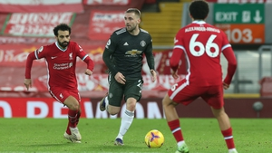 Luke Shaw says Alex Telles' arrival has helped take his game up a level andSolskjaerlauded Shaw following his man-of-the-match display in Sunday's 0-0 draw against Liverpool