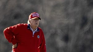 Donald Trump's love of golf is well-known - he was said to be 'gutted' when the PGA said it would not be staging the 2022 event at his Bedminster course