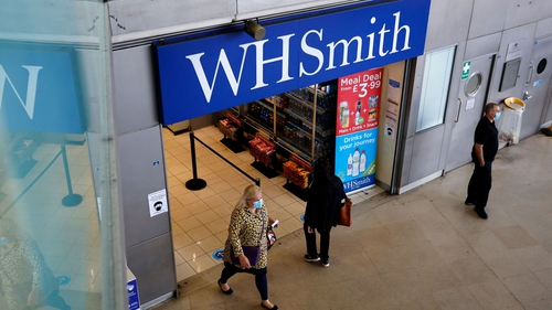 WH Smith said it now estimates £12-17m in monthly cash burn between January and March, lower than its previous estimate