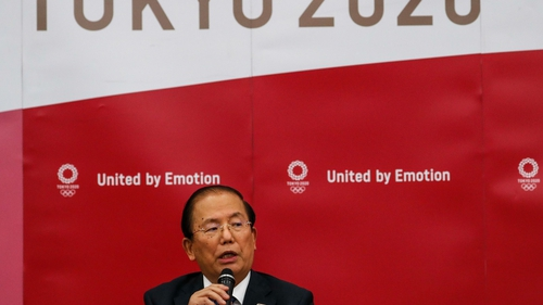 Toshiro Muto remains confident the Olympics will go ahead as planned
