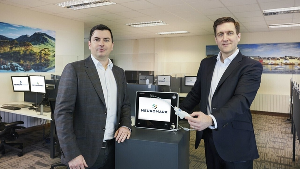 David Townley, co-founder & CTO and Brian Shields, co-founder & CEO of Neurent Medical
