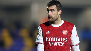 Sokratis was out of contract at the Emirates Stadium this summer