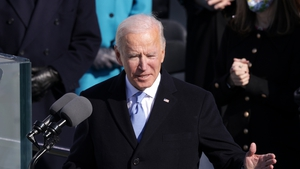 President Joe Biden calls for unity in his inaugural address