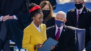 Youth poet Laureate Amanda Gorman addressed the inauguration
