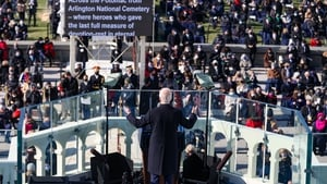 President Biden appealed for all sides to repair the hurt and divisions in society in his inaugural address