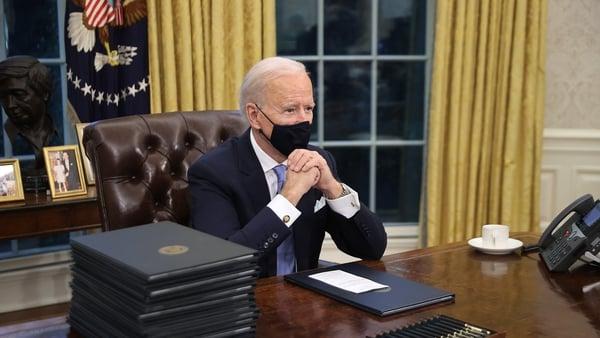 New US President Joe Biden