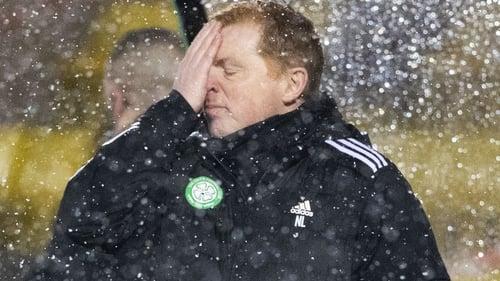 Neil Lennon is hanging on at Celtic