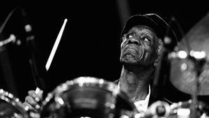 Art Blakey plays the North Sea Jazz Festival in the Netherlands in 1990